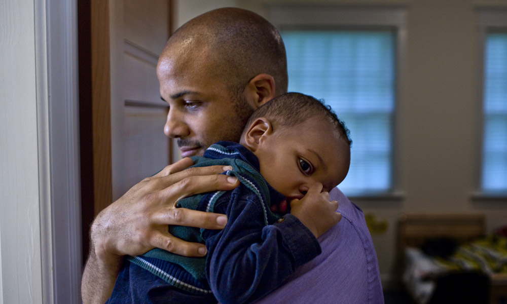 Dads experience postnatal depression too